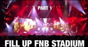 Video: Cassper Nyovest - Fill Up FNB Stadium   Part 1